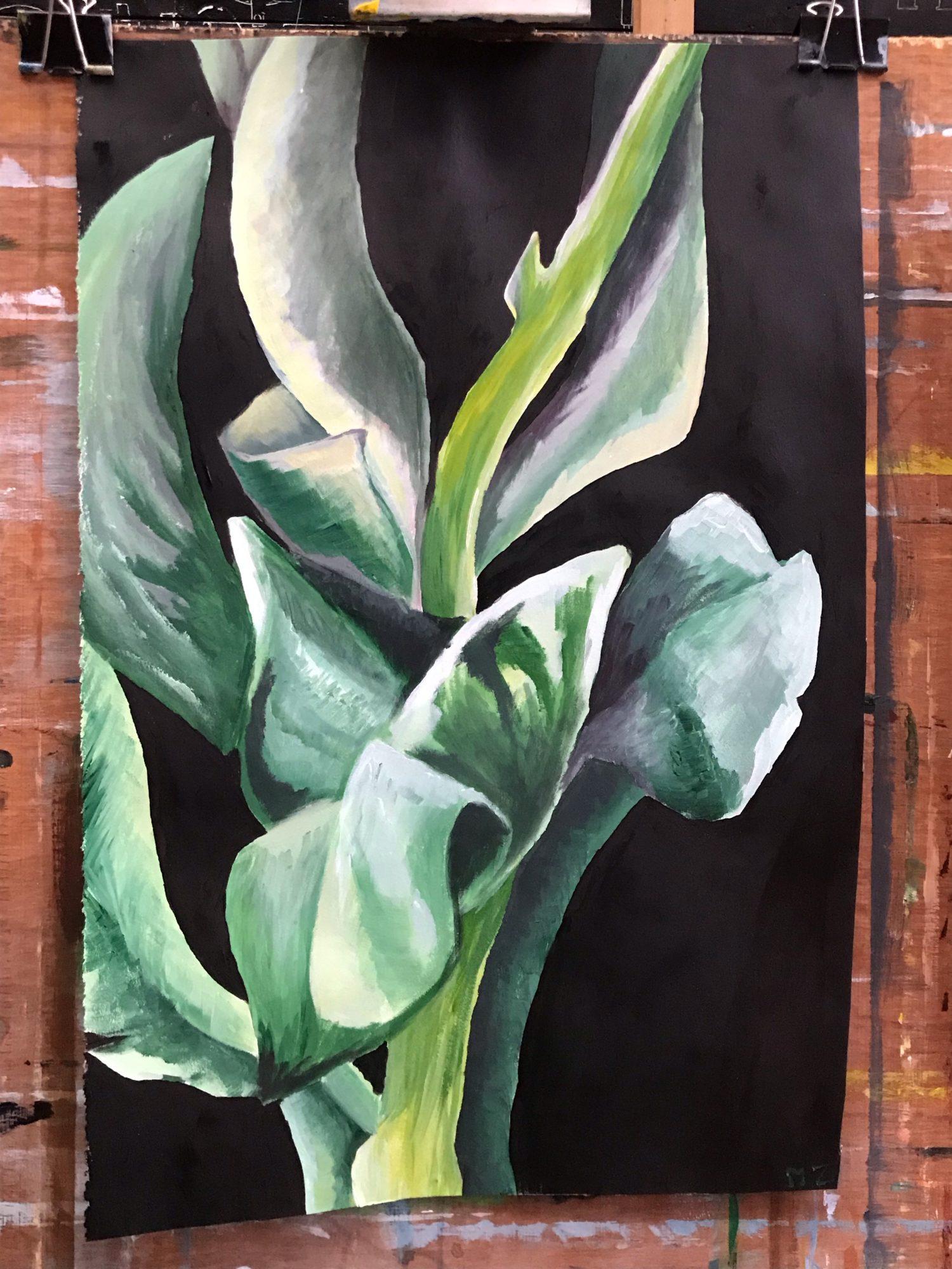 Planten schilderen