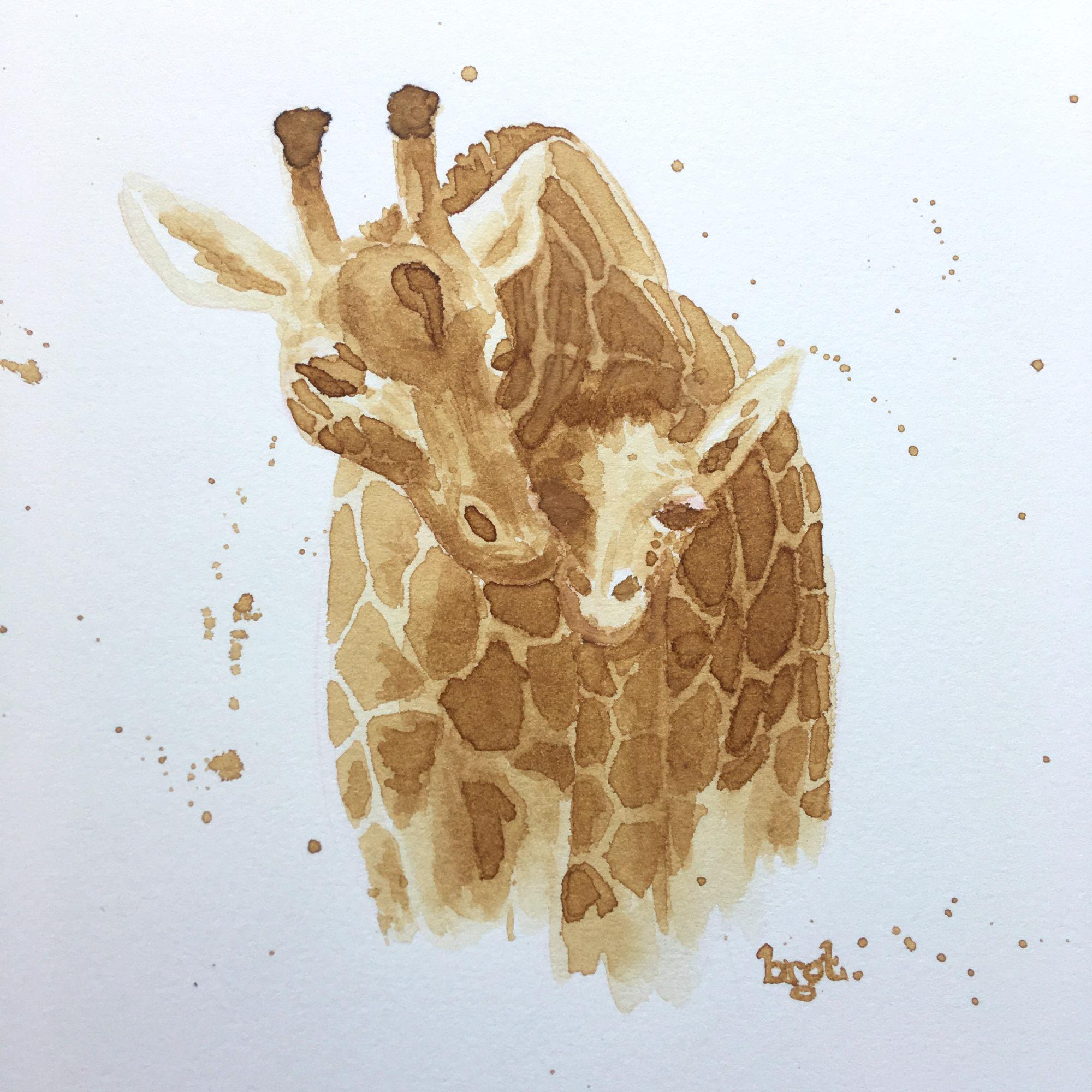 Binnenpret 2 – Illustreren met koffie